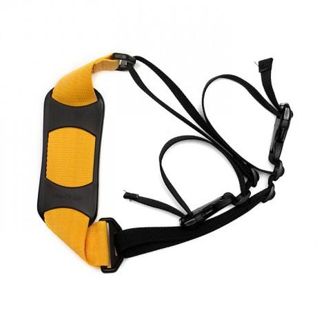 Popruh na nosenie - žltý