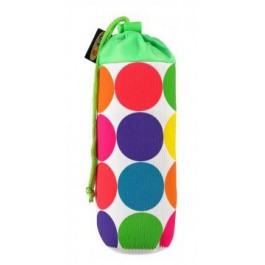 Držiak na flašku Micro neon dots s klipom