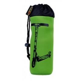 Držiak na flašku Micro zelený s klipom