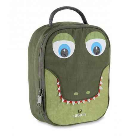 LittleLife desiatový box - krokodíl