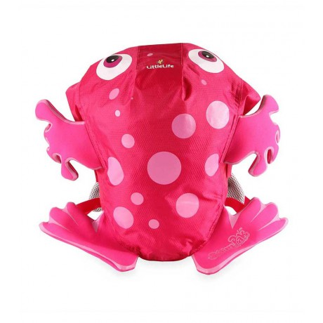 LittleLife Kids SwimPack Frog - ružový