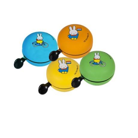 Yepp zvonček Miffy - žltý