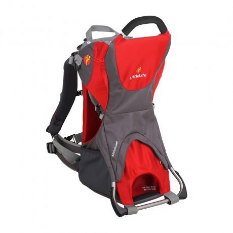LittleLife Adventurer Child Carrier Red