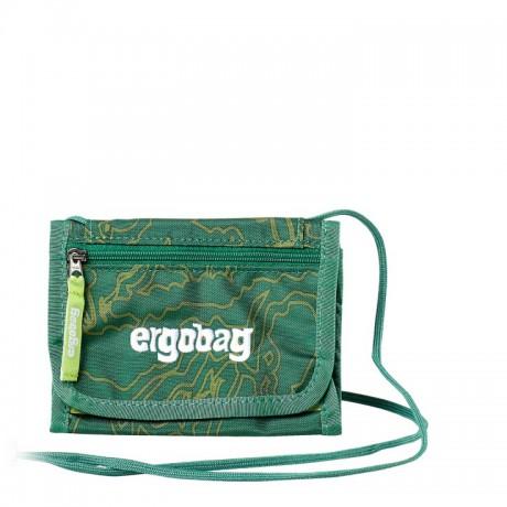 Peňaženka na krk Ergobag - zelená