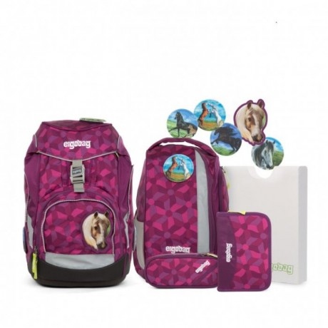 Školská taška Set Ergobag pack Night Crawlbear 2017