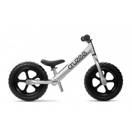 CRUZEE SILVER - WITH BLACK WHEELS - ULTRALIGHT 2 KG