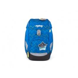 Školská taška Ergobag Prime - LiBearo (Zig-Zag blue)