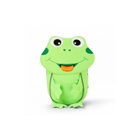 Detský batoh Affenzahn malý kamarát - NEON Žabiak Frog