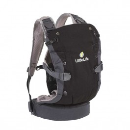 LittleLife Acorn Baby Carrier sivý