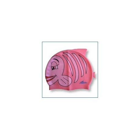Plavecká čapica Pink Fish