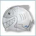 Plavecká čapica Grey Shark